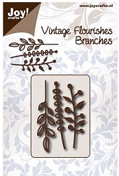 Joy Crafts - Cutting Die - Vintage Flourishes Branches