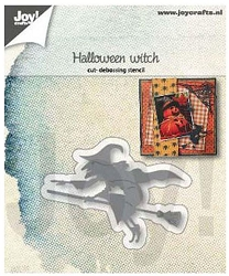 Joy Crafts - Cutting & Embossing Die - Halloween Witch