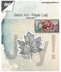 Joy Crafts - Cutting Die - Sketch Art Maple Leaf