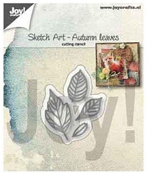 Joy Crafts - Cutting Die - Sketch Art Autumn Leaves