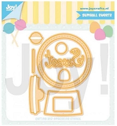 Joy Crafts - Cutting Die - Jocelijne Gumball Sweet