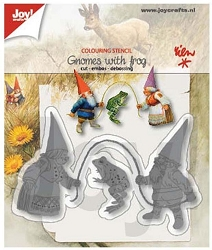 Joy Crafts - Cutting & Embossing Die - Gnomes with Frog