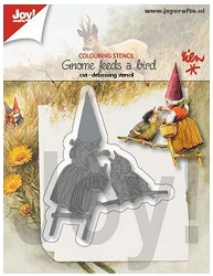 Joy Crafts - Cutting & Embossing Die - Gnome with a Bird