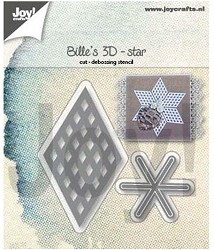 Joy Crafts - Cutting Die - Bille's 3D Star