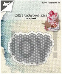 Joy Crafts - Cutting Die - Bille's Background Stars