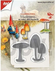 Joy Crafts - Cutting & Embossing Die - Mushrooms