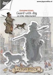 Joy Crafts - Cutting & Embossing Die - Anton Pieck Guard with Dog