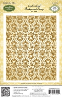Just Rite - Cling Stamp - Embroidered Background Stamp