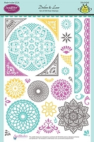 Just Rite - Clear Stamp - Doilies & Lace