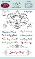 Just Rite - Clear Stamp Set - by Becca Feeken - Looking For A Sign