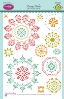 Just Rite - Clear Stamp - Dainty Doilies