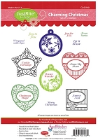 Just Rite - Cling Stamp - Charming Christmas