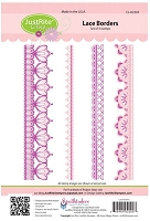 Just Rite - Cling Stamp - Lace Borders