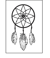 KaiserCraft - Embossing Folder - Dreamcatcher (4x6)