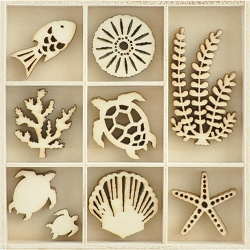 KaiserCraft - Deep Sea Collection - Underwater Wooden Shapes