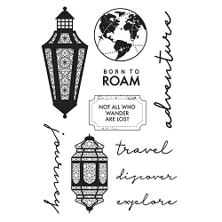 KaiserCraft - Journey Collection - Clear Stamp