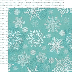 KaiserCraft - Let It Snow Collection - Falling Snowflakes (12