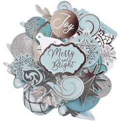 KaiserCraft - Let It Snow Collection - Collectables Die Cuts (Foiled)