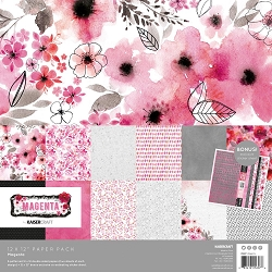 KaiserCraft - Magenta Collection - Paper Pack