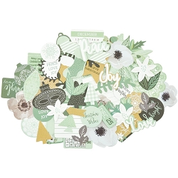 KaiserCraft - Mint Wishes Collection - Collectables Die Cuts