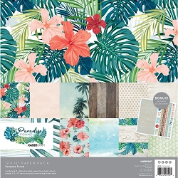 KaiserCraft - Paradise Found Collection - Paper Pack