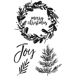 KaiserCraft - Peace and Joy Collection - Clear Stamp