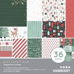 KaiserCraft - Peppermint Kisses Collection - 6.5