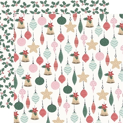 KaiserCraft - Peppermint Kisses Collection - Bright Baubles (12