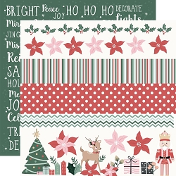 KaiserCraft - Peppermint Kisses Collection - Ho Ho Ho (12