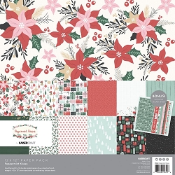 KaiserCraft - Peppermint Kisses Collection - Paper Pack