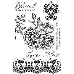 KaiserCraft - Rosabella Collection - Clear Stamp