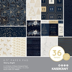 KaiserCraft - Starry Night Collection - 6.5