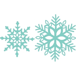 KaiserCraft - Decorative Dies - Snowflakes