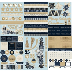 KaiserCraft - Starry Night Collection - Sticker Book (foiled)
