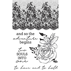 KaiserCraft - Two Souls Collection - Clear Stamp