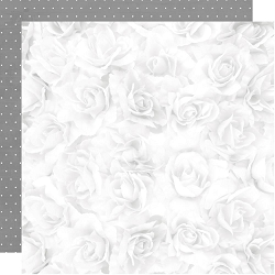 KaiserCraft - Two Souls Collection - White Rose (12