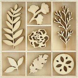 KaiserCraft - Whisper Collection - Nature Wooden Shapes