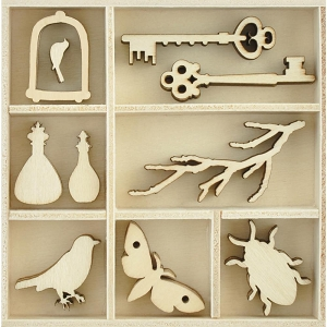 KaiserCraft - Anthology Collection - Curiosities Wooden Shapes