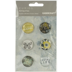 KaiserCraft - Antiquities Collection - Curios (glass pebbles)