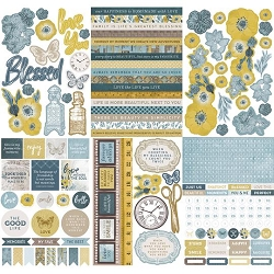 KaiserCraft - Antiquities Collection - Sticker Book