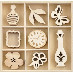KaiserCraft - Antiquities Collection - Antiquities Wooden Shapes