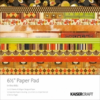 Kaiser Craft - In The Attic Collection - 6.5