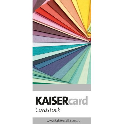 KaiserCraft - New range of cardstock in 66 colors!