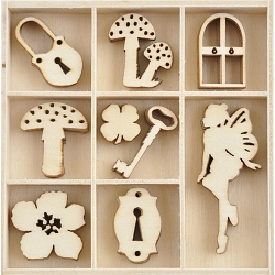 KaiserCraft - Enchanted Collection - Enchanted Wooden Shapes