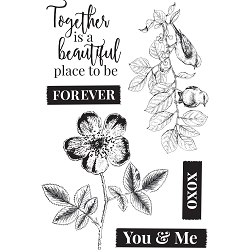 KaiserCraft - Everlasting Collection - Clear Stamp