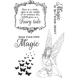 KaiserCraft - Fairy Garden Collection - Clear Stamp