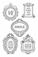 KaiserCraft - Flora Delight Collection - Clear Stamps (4