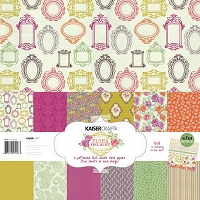 KaiserCraft - Flora Delight Collection - Paper Pack :)