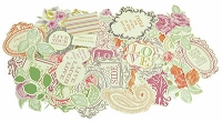 KaiserCraft - Flora Delight Collection - Cardstock Die-Cuts