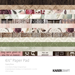 KaiserCraft - Gypsy Rose Collection - 6.5
